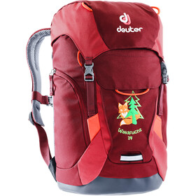Deuter Waldfuchs 14 Backpack Kids maron/cardinal